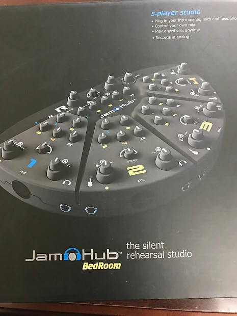 jamhub bedroom 5-section silent rehearsal studio system | reverb