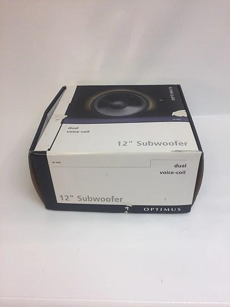 dual voice coil subwoofer box ice maker wiring diagram optimus 40 1028 speaker 10 4 8ohm reverb description shop policies original