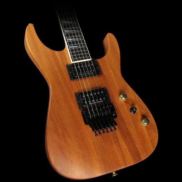 Jackson Custom Exclusive Sl2h V Soloist Natural Series