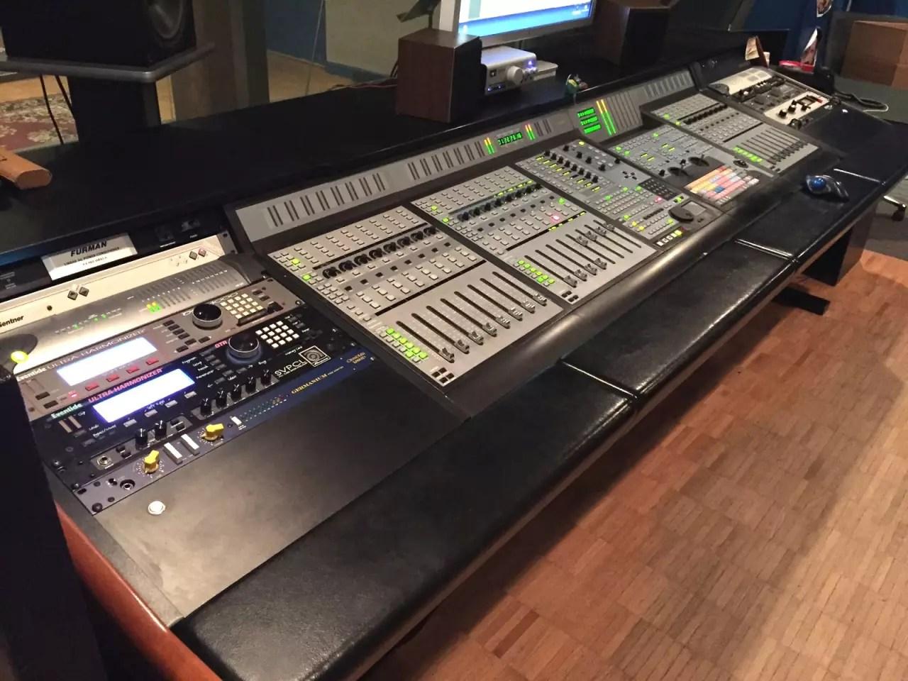 Argosy Desk For Digidesign ProControl Also Avid C24
