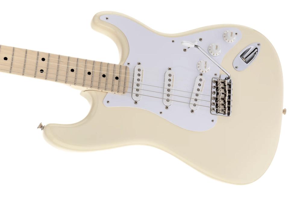 medium resolution of fender eric clapton stratocaster olympic white finish authorized dealer warranty tweed case