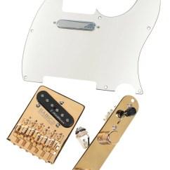 Fender Noiseless Pickup Wiring Diagram Upgrade Photosynthesis Black And White Telecaster Kit Vintage Pickups