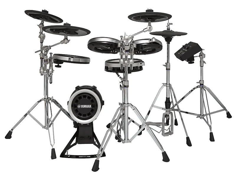 Yamaha DTX760HWK 5-Piece Kit w/TCS Snare and Tom Pads, 3