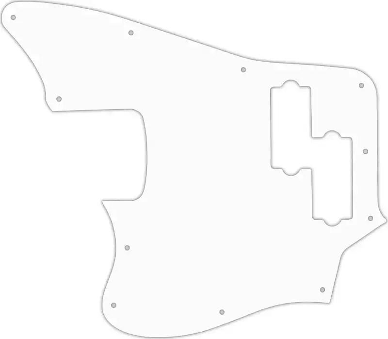 WD Custom Pickguard For Left Hand Squier By Fender Vintage