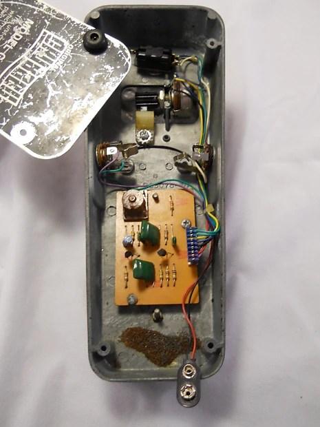 Vintage 70 S Original Crybaby Gcb 95 Wah Pedal Original