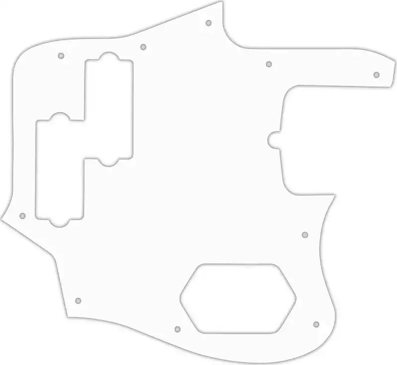 WD Custom Pickguard For Fender American Standard Jaguar