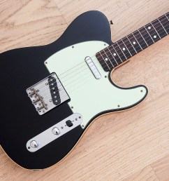 1988 fender telecaster custom 62 vintage reissue black japan mij fujigen usa pickup harness [ 1600 x 1200 Pixel ]
