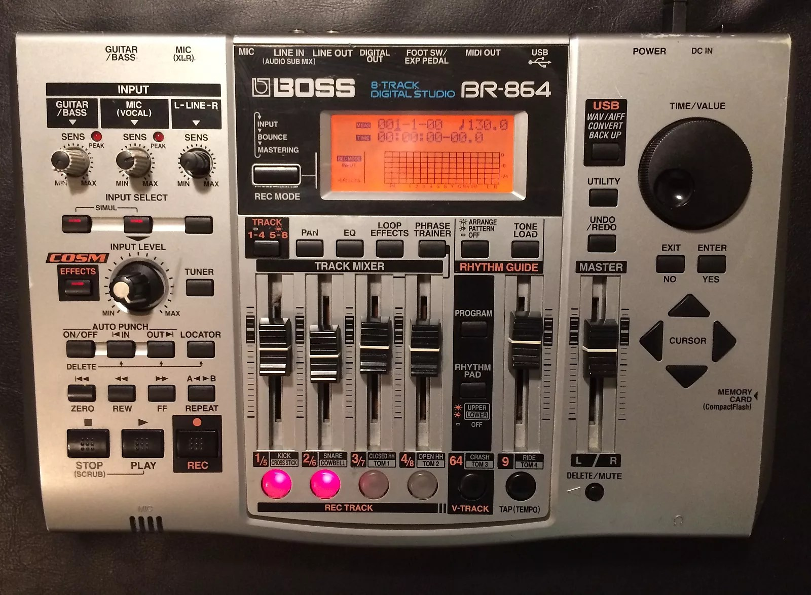 Boss Br 864 8 Track Digital Studio Recorder