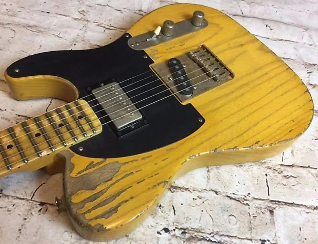 7 Way Wiring Guitar Fraser Custom Shop Keith Richards Micawber 50s