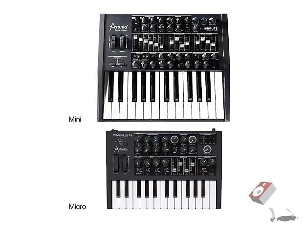 Arturia Microbrute Analog Synthesizer MIDI Synth Keyboard