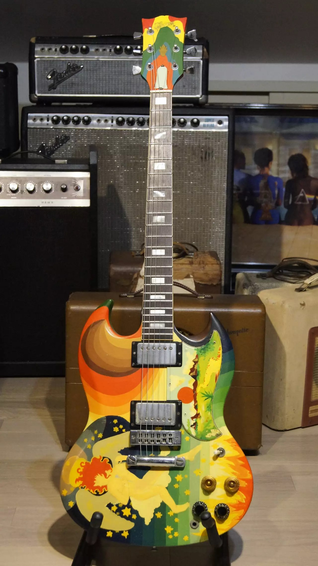 hight resolution of 1976 gibson sg the fool