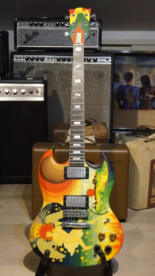 small resolution of 1976 gibson sg the fool