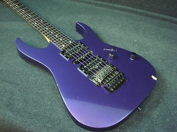 Ibanez Rg Series Hsh Electric Guitar Purple Finish