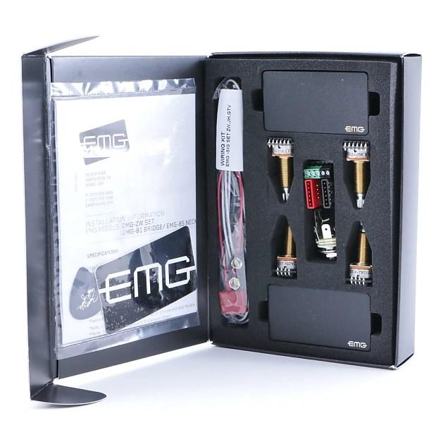 Emg Wiring Diagram 81 85 1 Volume Tone