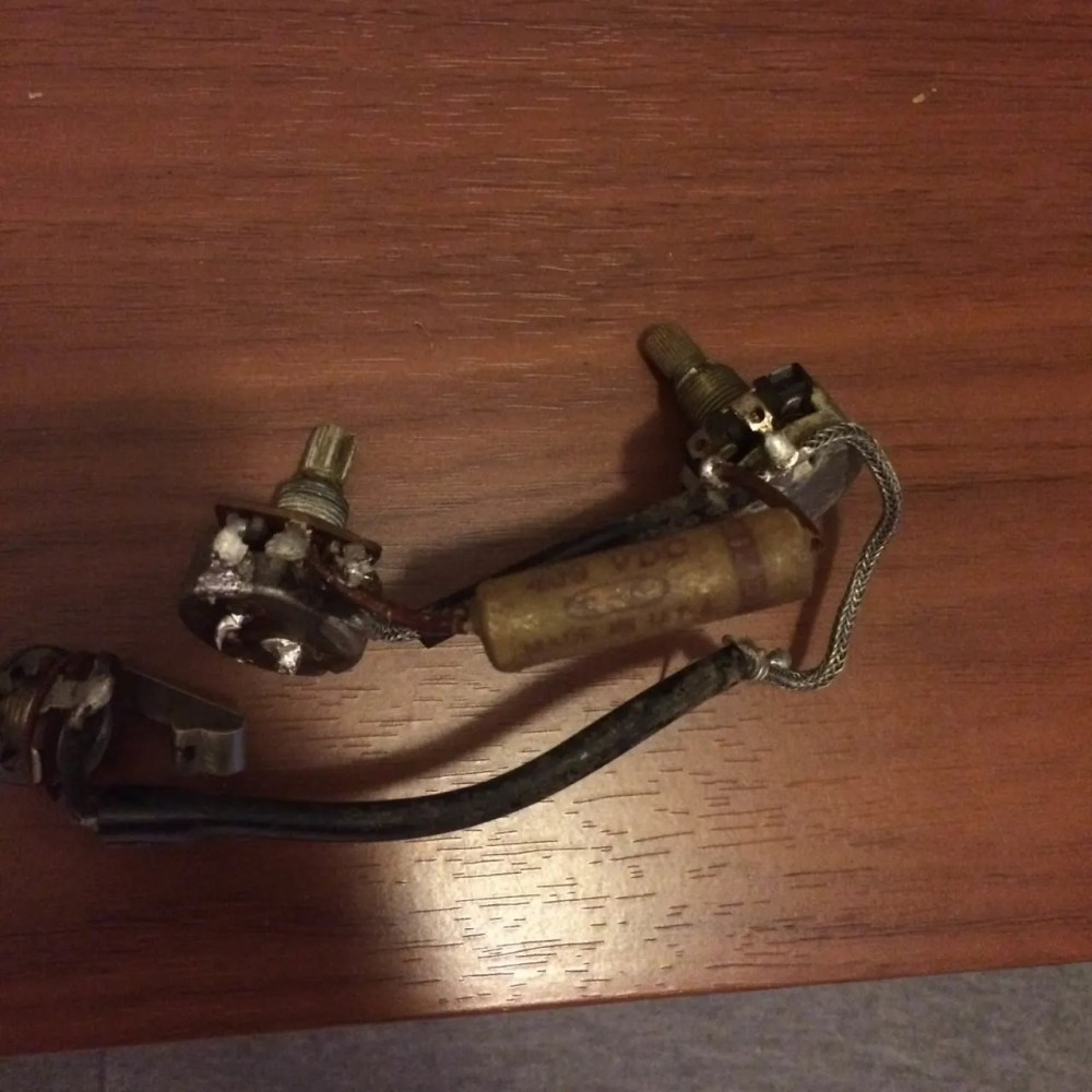 medium resolution of gibson le paul junior wiring harnes