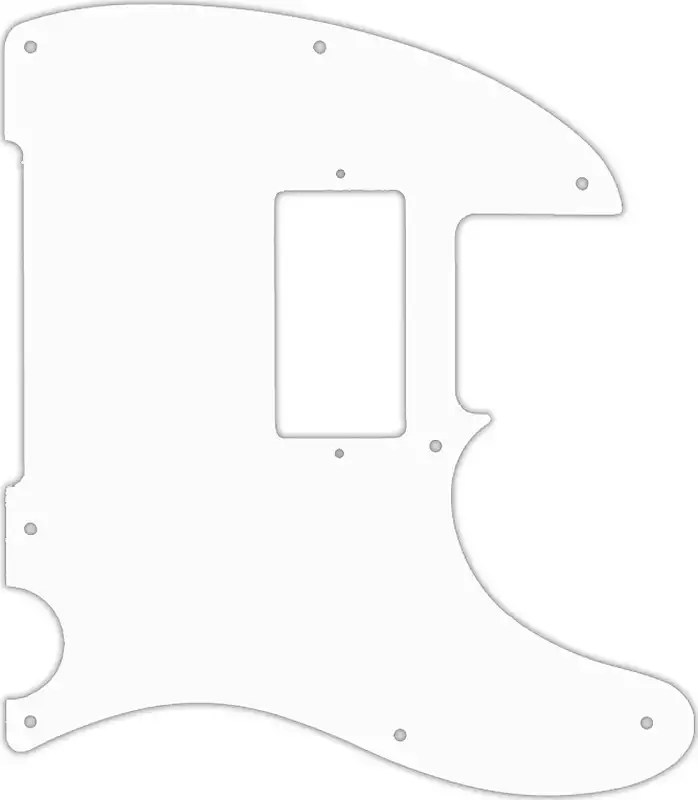 WD Custom Pickguard For Squier By Fender John 5 Signature