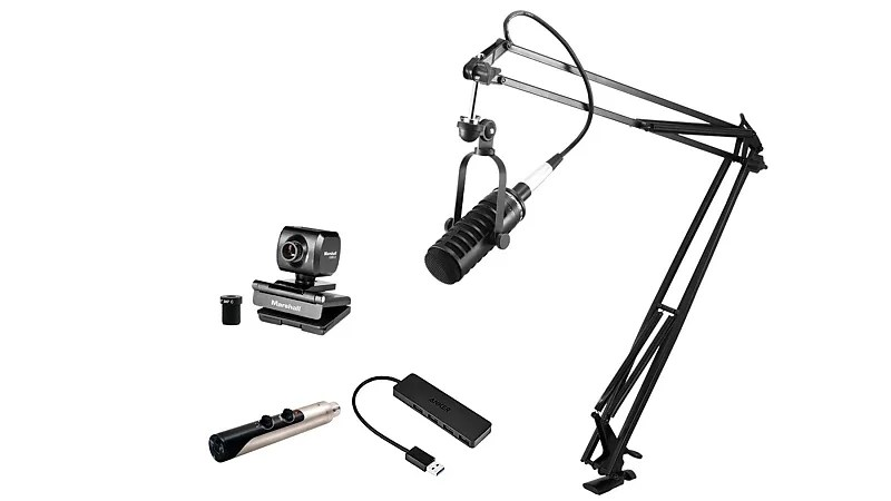 MXL VPS Solo Visual Podcasting Package w/ Premium 15-foot