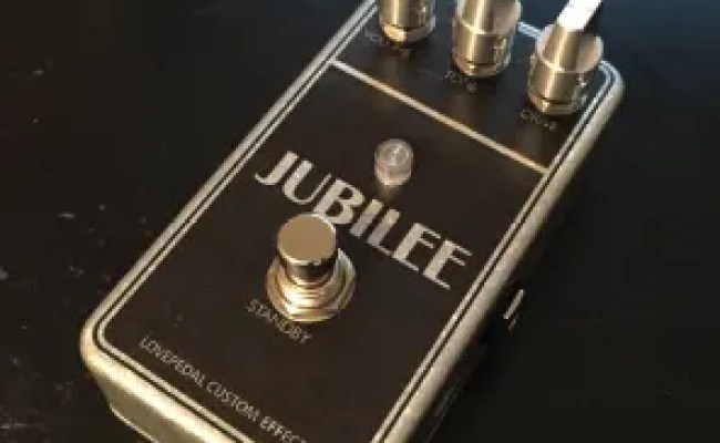 Lovepedal Jubilee Purple Plexi Pedal 2016 New Pedals R