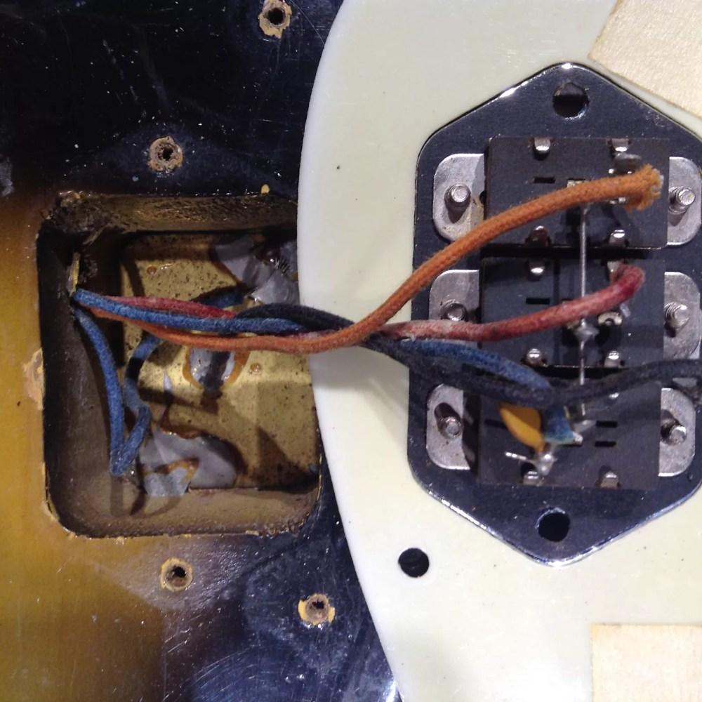 medium resolution of vintage fender jaguar wiring