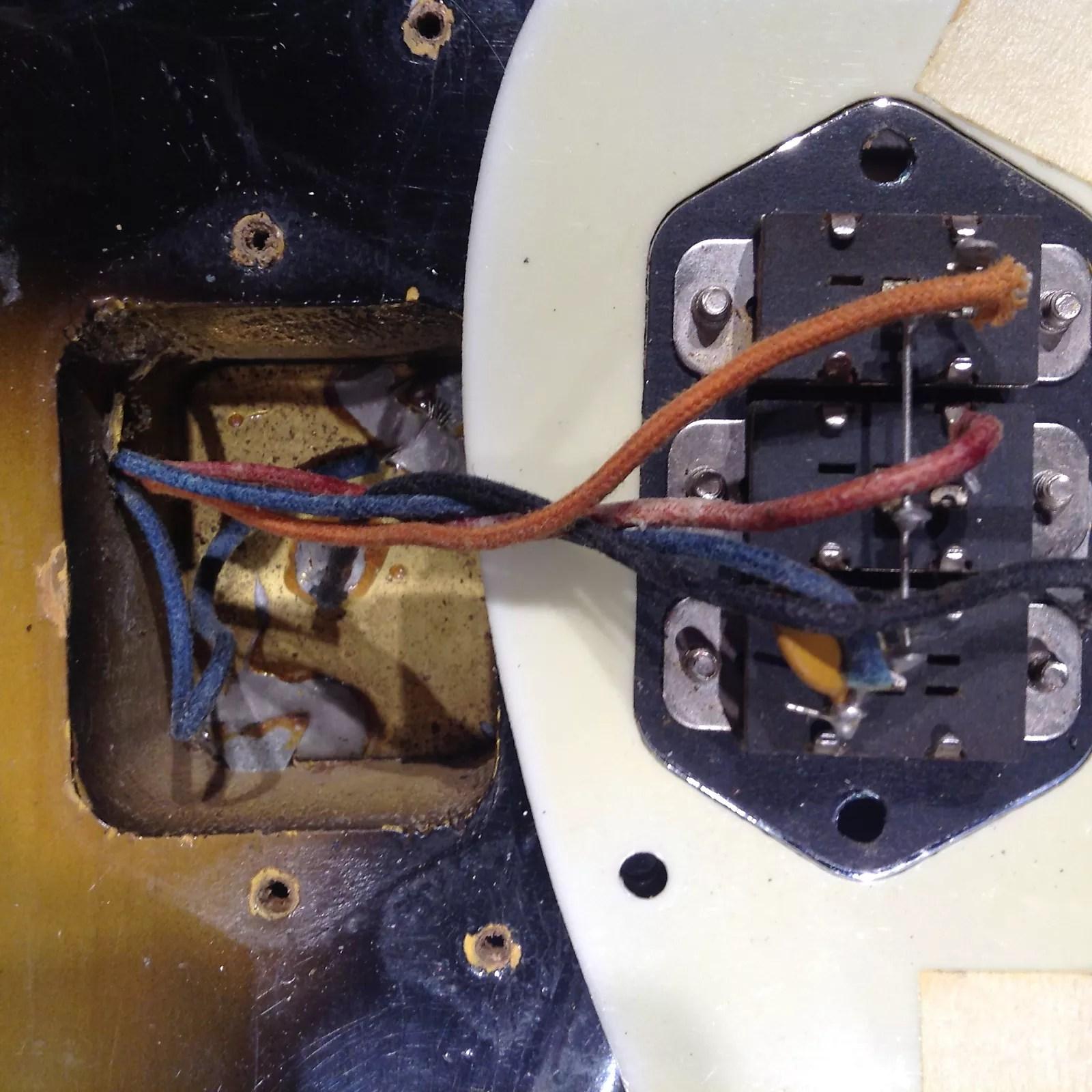 hight resolution of vintage fender jaguar wiring