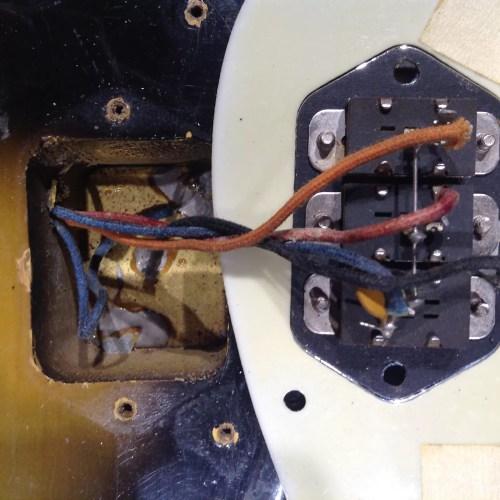 small resolution of vintage fender jaguar wiring