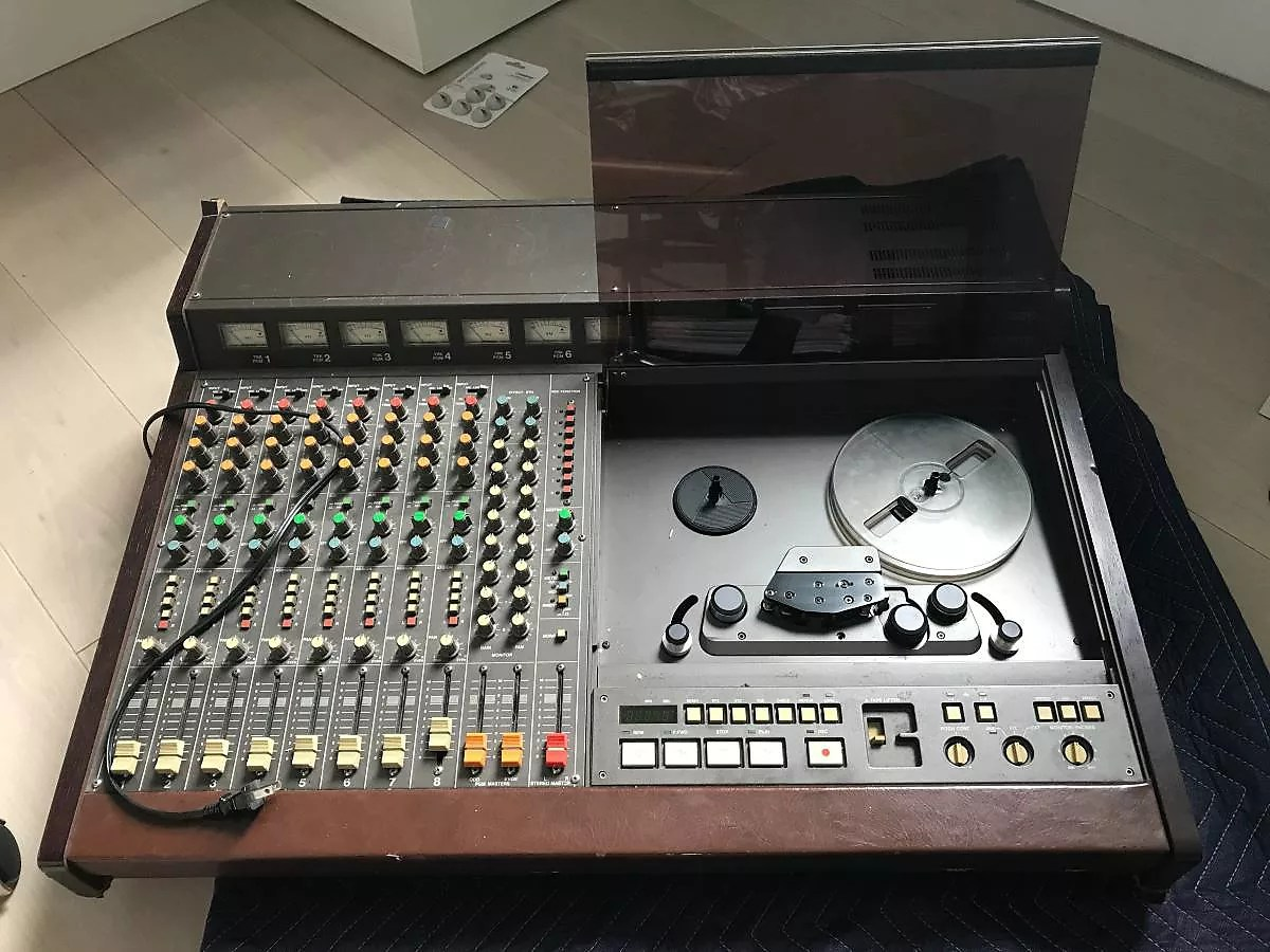 Tascam 388 Studio 8 1 4 8 Track Tape Recorder With