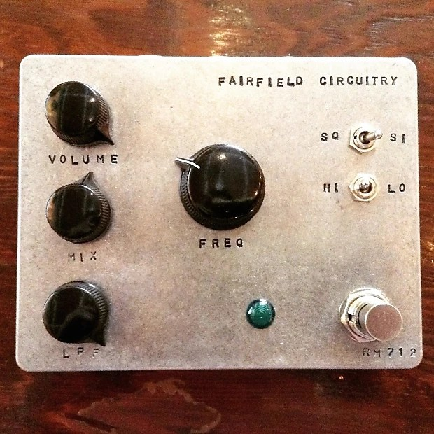 Fairfield Circuitry Randy39s Revenge Ring Modulator Reverb