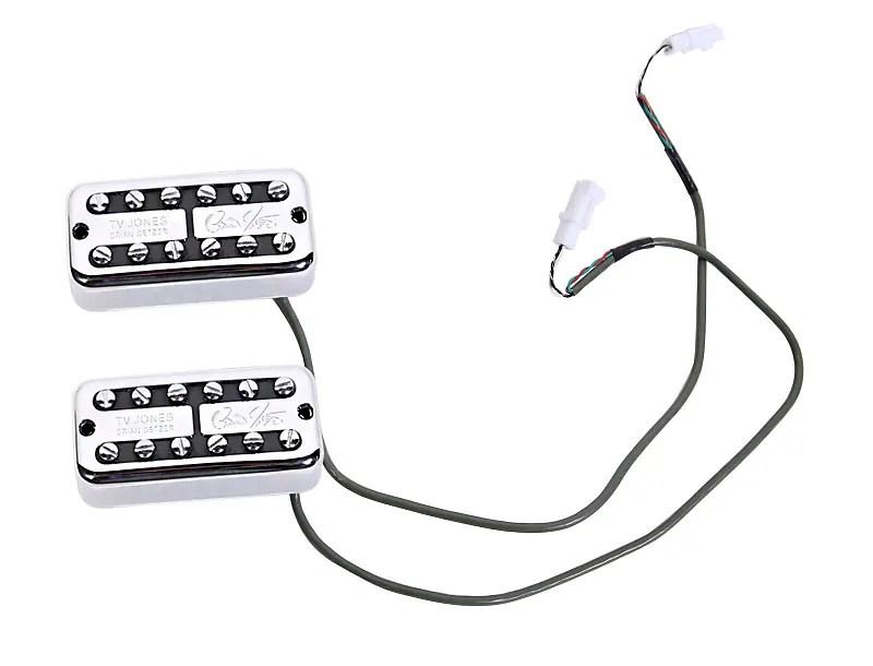 920D Custom TV Jones Brian Setzer Pickups + GR-EL Wiring
