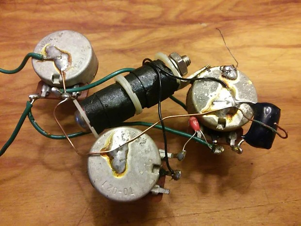 Electronic Instrument Wire Volumegain Control Pot