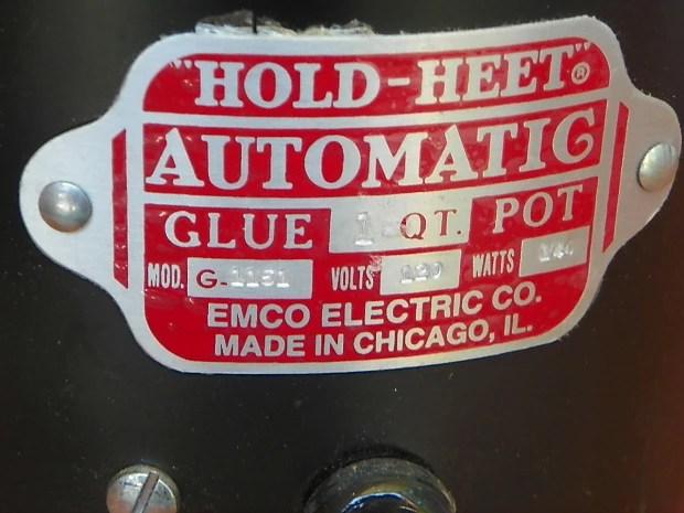 Hold Heet Glue Pot