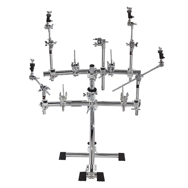 Gibraltar Electronic Stealth Drum Rack w/ Pad & Module