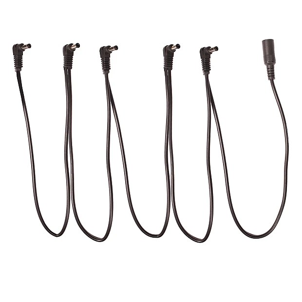 ChromaCast 5-Way Daisy Chain Cable for Effects Pedals with