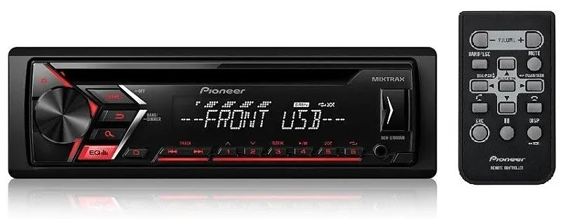 pioneer deh world map for visio diagram s1100ub single din in dash cd am fm car stereo reverb