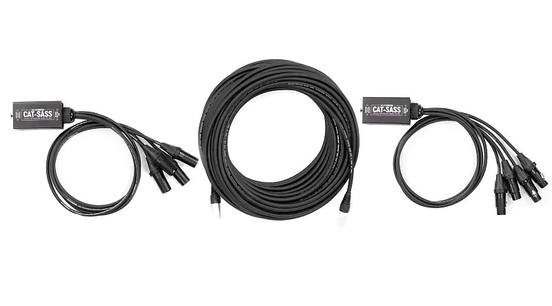 Elite Core CAT-SASS Snake Complete System w/ 3 pin XLR