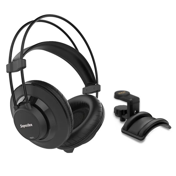 Superlux Hd-671 Closed- Over-ear Headphone With