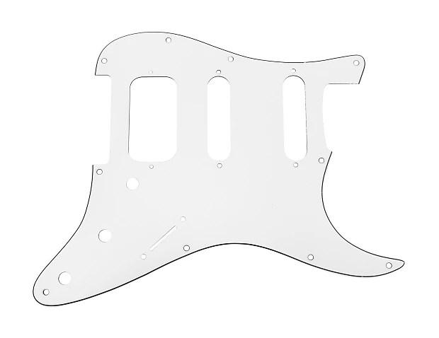 920D Strat 3 Ply HSS Pickguard Fender Stratocaster CNC Cut