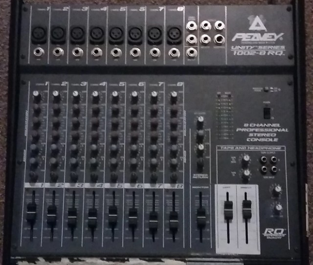 Peavey 8 Channel Stereo Mixer Unity Series 1002 8rq