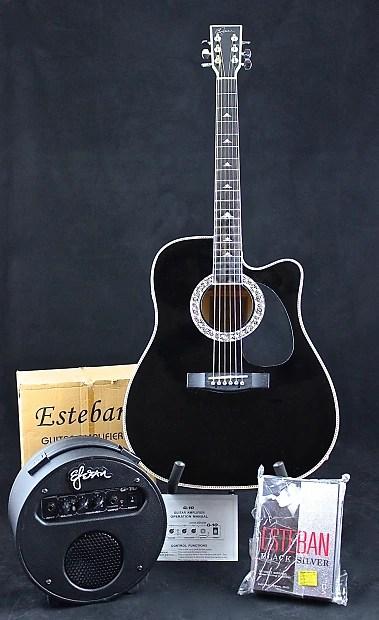 Esteban Guitar Package : esteban, guitar, package, LIMITED, EDITION, ESTEBAN, SILVER, Reverb