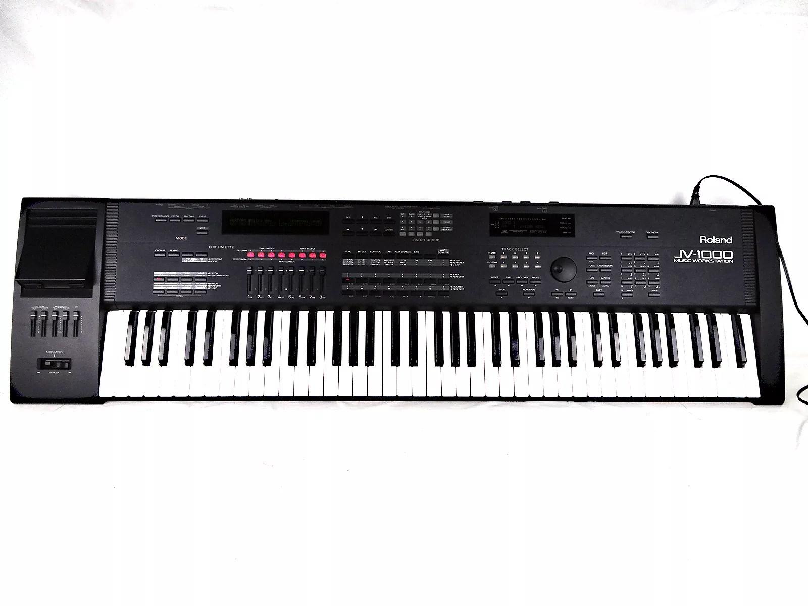 88 key piano keyboard diagram advance t8 ballast wiring roland jv 1000 76 music workstation reverb