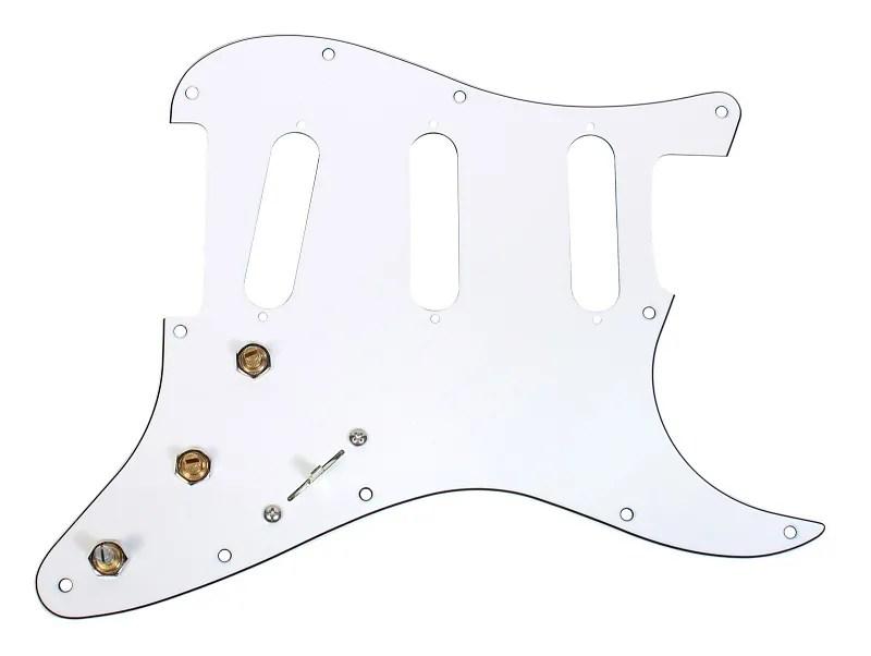 920D Custom S5W Wiring Harness w/ 11-Hole SSS Stratocaster