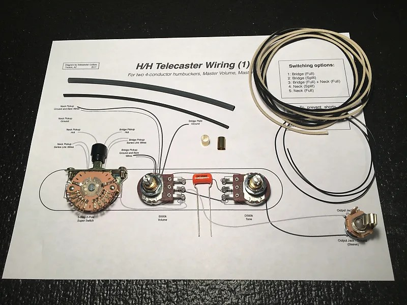 Dual Humbucker Wiring Guitar Forums
