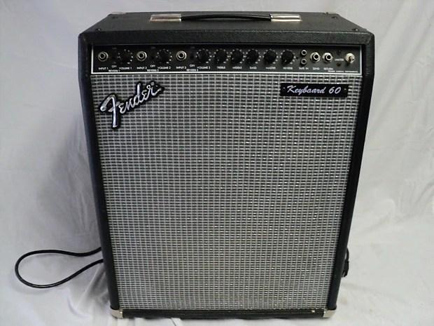 Vintage Fender Keyboard 60 Fk60 Keyboard Amplifier