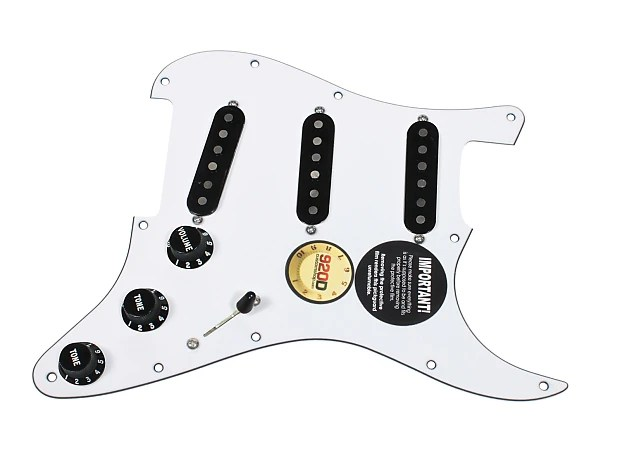 920D Custom Loaded Strat Stratocaster Pickguard Fender