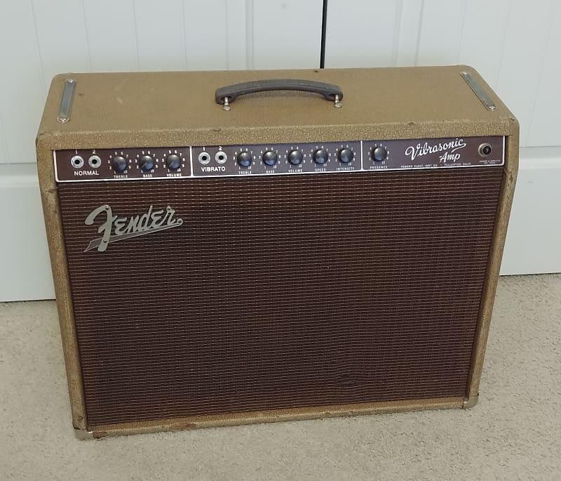 Fender Rare Vintage Vibrasonic Amp Center Volume