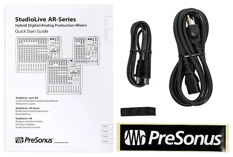 Presonus StudioLive AR12 14-Ch Soundboard Mixing Console