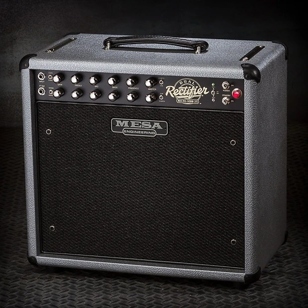 MESABoogie RectoVerb 25 1x12 Combo  Custom Silver Bronco   Reverb