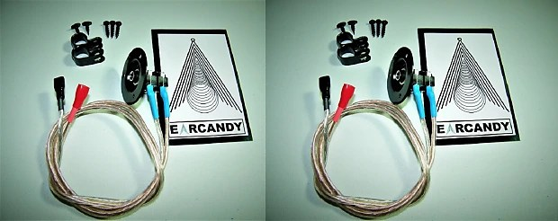 Earcandy Mil Spec 1x12 1x10 1x15 Guitar Amp Speaker Cab Cabinet Wiring Harness 1 4 Pair No Soldering