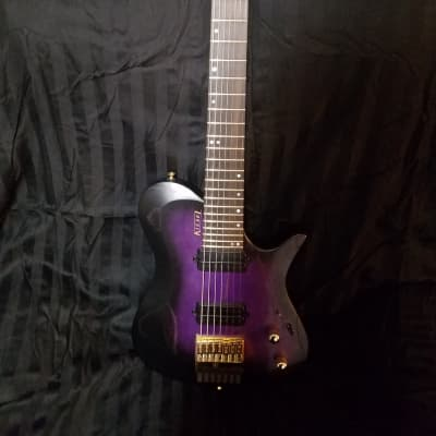 Purple Heart Guitar Top