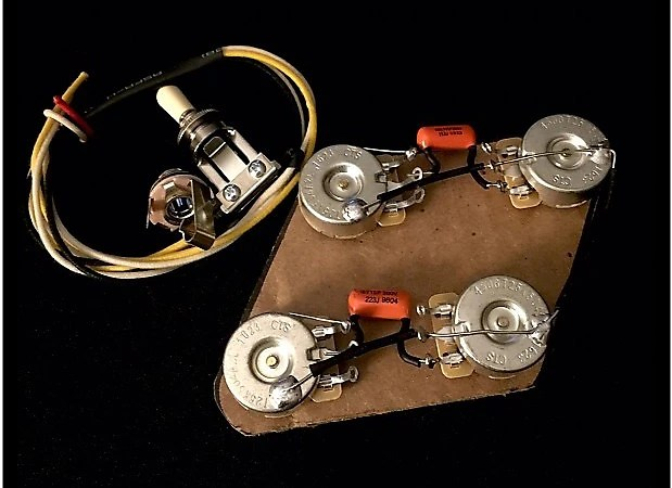 Epiphone Les Paul Upgraded 50's Wiring Harness