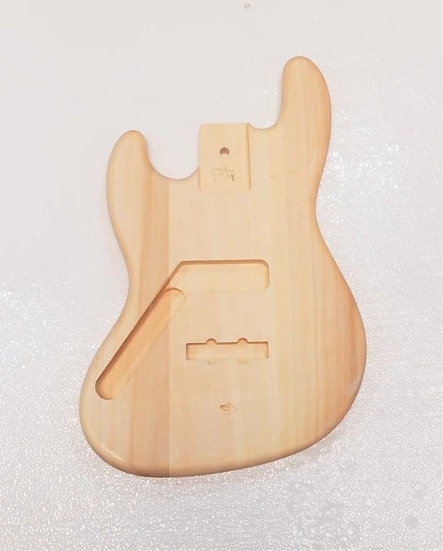 p bass body dimensions hpm 2 gang switch wiring diagram left handed diy jb guitar unfinished wood reverb